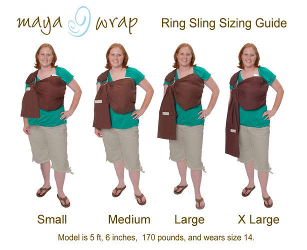 Questions About Ring Sling Sizing Carry Me Away