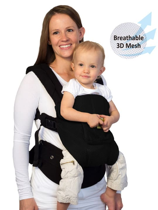 Black Lillebaby Complete Airflow|Lillebaby Carrier Airflow