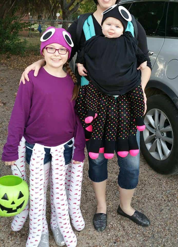 Babywearing Halloween costumes 2016: Octopuses by Rebekah Haigood Weddel